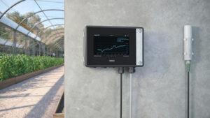 Převodník Indigo 520 při monitoringu skleníku