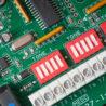 Svorkovnice a přepínače nastavení tónů nevýbušné sirény DB3B Eaton MEDC Exd 12-48 Vdc SIL1 122dB
