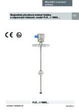 Manuál - Odporový snímač hladiny FLR (Ex i) - Odporový snímač hladiny FLR