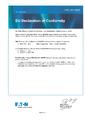 EU Prohlášení o shodě - MTL4600 – Galvanické oddělovače