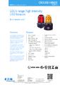Katalogový list maják LD15 - Nevýbušný LED maják LD15