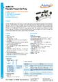 Datasheet pumpy ADT918 - Pneumatické pumpy Additel řady ADT900