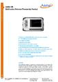 Datasheet 286 - Referenční teplotní skener / zobrazovač Additel 286