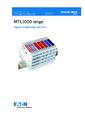 Návod k instalaci MTL1000 - MTL1000 – Oddělovače