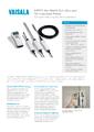 Katalogový list HM70 - Přenosný přístroj pro měření vlhkosti a teploty HM70