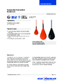 Katalogový list - Závěsný hladinový spínač SLS - Závěsný hladinový spínač SLS