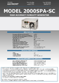 Datasheet Kaymont M2000 - Generátor/kalibrátor vlhkosti Kaymont M2000