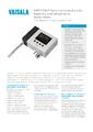 Katalogový list převodníku HMT370EX - Jiskrově bezpečný převodník vlhkosti a teploty HMT370EX
