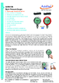 Additel 685 datasheet - Digitální tlakoměr Additel 685