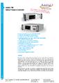 Datasheet kalibrátor Additel 780 - Regulátor tlaku ADDITEL řady 780