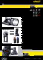 Katalogový list svítilny L-5000/F - Profesionální nabíjecí pátrací svítilna L-5000/F