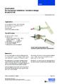 Katalogový list - Horizontální hladinový spínač HLS-M - Horizontální hladinový spínač HLS-M (verze mini)
