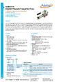 Datasheet pumpy ADT914A - Pneumatické pumpy Additel řady ADT900
