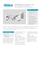 Katalogový list převodníků teploty a vlhkosti HMDW80 - Převodníky teploty a vlhkosti řady HMDW80