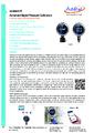 Additel 673 datasheet - Digitální kalibrátor tlaku Additel 673