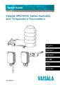 Rychlý průvodce převodníků HMDW110 - Převodníky vlhkosti a teploty řady HMDW110