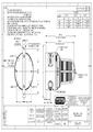 Výkres - Nevýbušný xenonový zábleskový maják XB15