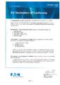 ES Prohlášení o shodě MTL (RTK) - Jiskrově bezpečná siréna DB5