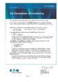 EU Prohlášení o shodě - MTL5500 – Oddělovače Ex ia