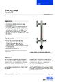 Katalogový list - Přímý skleněný stavoznak LGG - Přímý skleněný stavoznak LGG
