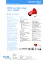 Katalogový list siréna DB3B - Nevýbušná siréna DB3B