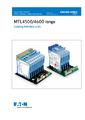 Návod k instalaci MTL4500, 4600 - MTL4600 – Galvanické oddělovače