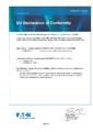 EU Prohlášení o shodě - MTL1000 – Oddělovače