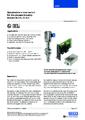 Katalogový list - Optický hladinový spínač, model OLS-S a OSA-S - Optický hladinový spínač
