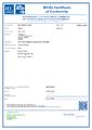 Certifikát IECEx pro převodník HMT370EX - Jiskrově bezpečný převodník vlhkosti a teploty HMT370EX