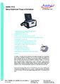 Datasheet kalibrátoru - Automatický kalibrátor tlaku Additel 761A
