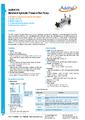 Datasheet Additel 925 - Hydraulické pumpy Additel do 1.000 bar