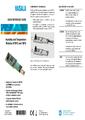 Rychlý přehled k převodníkům HMW90 - Nástěnné převodníky teploty a vlhkosti řady HMW90